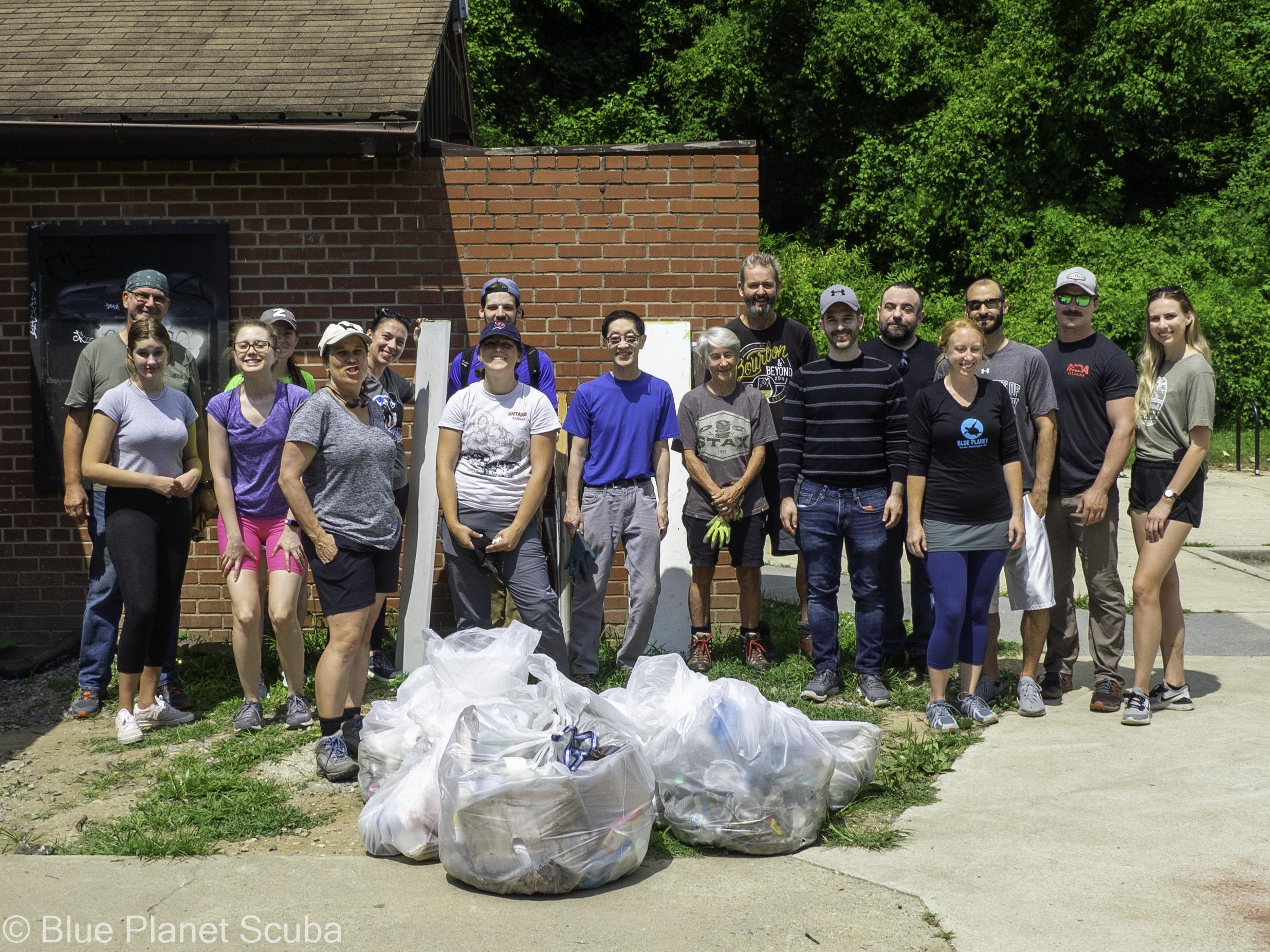 International Coastal Cleanup At Rock Creek Park