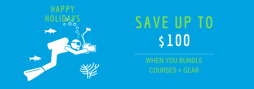 Save up to $100 when you bundle courses and gear