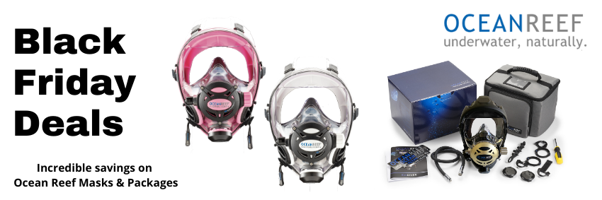 Save on Ocean Reef Integrated Diving Masks