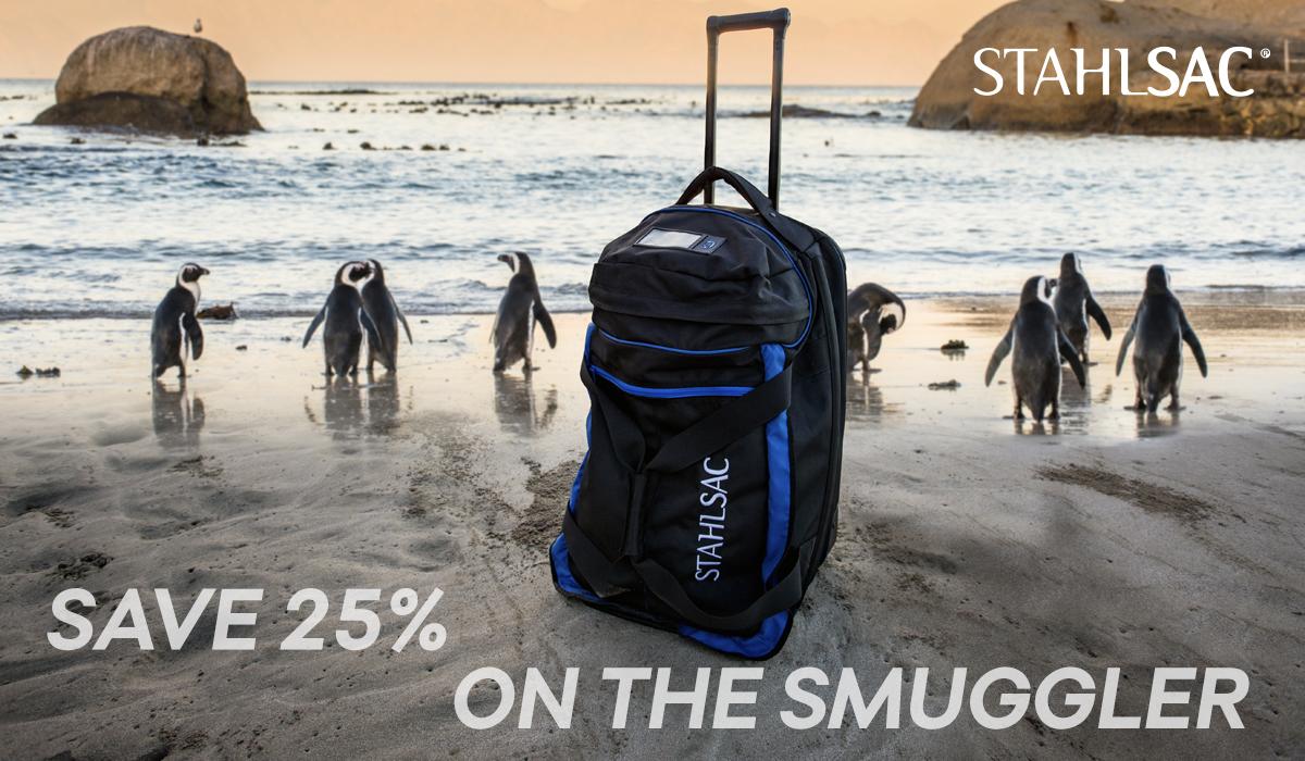Save 25% off all Stahlsac Jamacian Smuggler bags