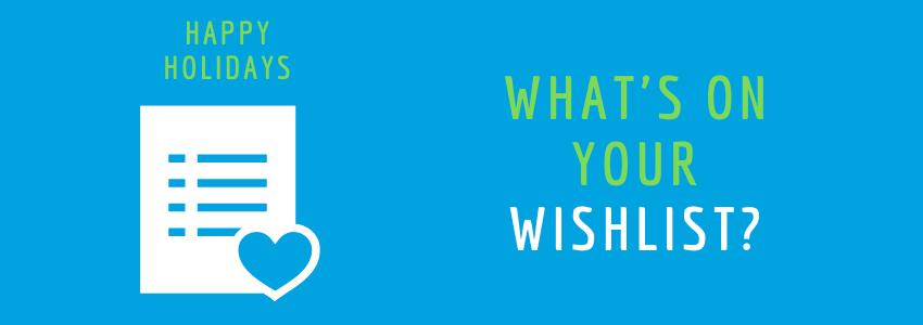 Create a wishlist with us