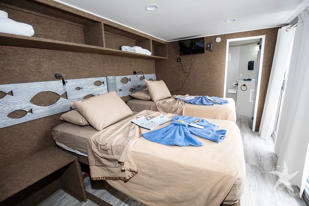 Cabin on the Jardines Aggressor II
